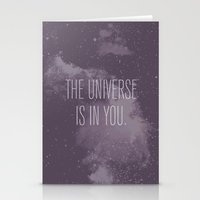Forged in the Stars Stationery Cards