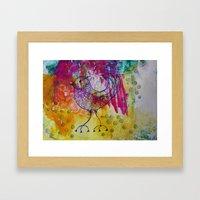 BiRD- JUSTART © Framed Art Print