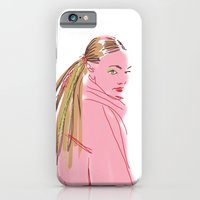 Hairstyle texture iPhone 6 Slim Case