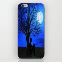 Peaceful night iPhone & iPod Skin