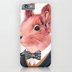 Red Squirrel iPhone 6 Slim Case