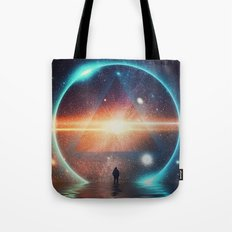 seeing the lights Tote Bag