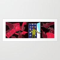 Hiding in Plain E-sight Art Print