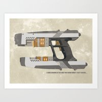 STAR LORD - PETER QUILL Art Print