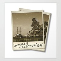 Summer Of '54 Art Print