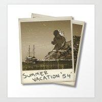 Summer of '54 Art Print