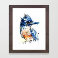 Belted And Brazen Framed Art Print