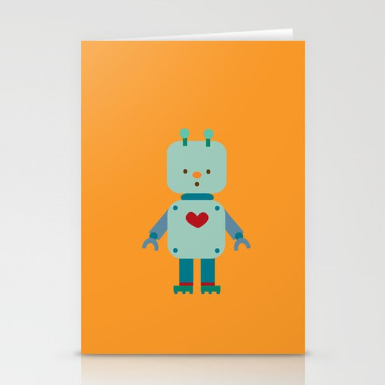 Robot Stationery Card