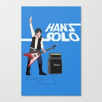 Han's Solo Canvas Print