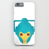 Colorful Cyberman Doctor Who iPhone 6 Slim Case