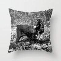 Rambunctious Throw Pillow