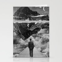 Black & White Collection -- Wandering Stationery Cards