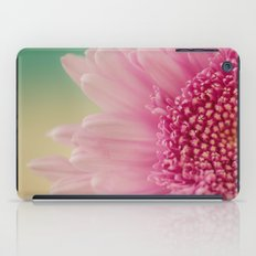 Pink bursts, Floral Macro Photography iPad Case