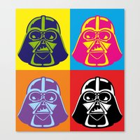 Darth Vader - Pop Art - … Canvas Print