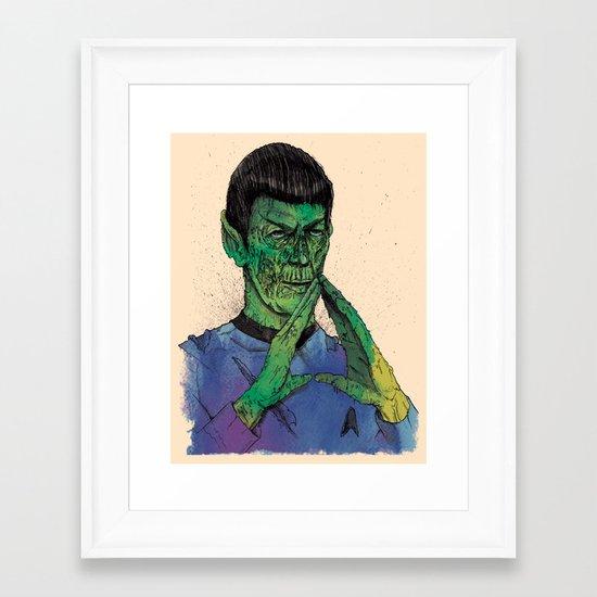 Decorpsinator Framed Art Print