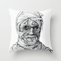 Come To Mummy Throw Pillow