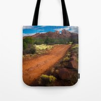 Red Desert Day Tote Bag