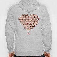 I Heart Robot Hoody