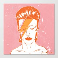 Ziggy Stardust 2016 Canvas Print
