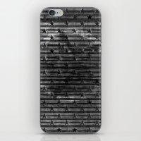 Black Stars & Black Stripes iPhone & iPod Skin