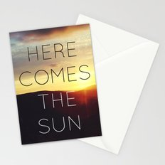 Here It Comes Stationery Cards
