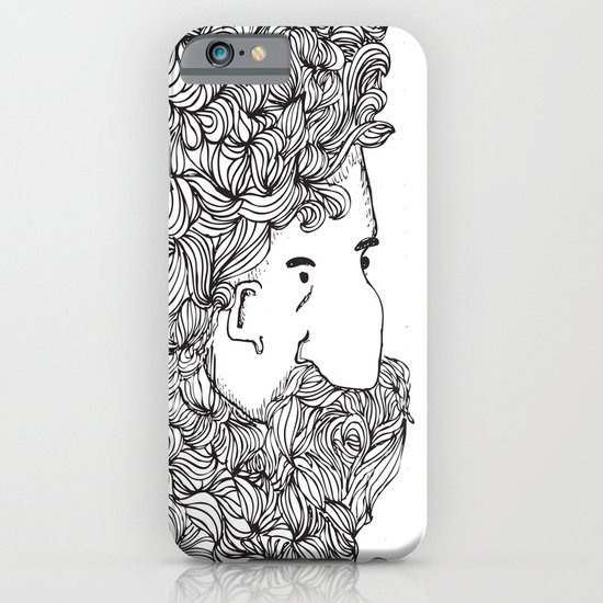 Bearded Man iPhone & iPod Case