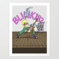 Blink Bunny Art Print