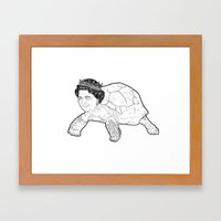 Queen Tortoise Framed Art Print
