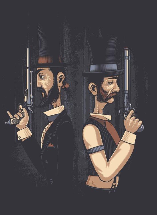 Pistols At Dawn Canvas Print