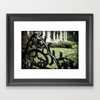 Gated Framed Art Print