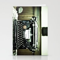 You don't write anymore... Stationery Cards