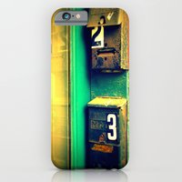 iPhone & iPod Case featuring mailboxes by Krista Glavich