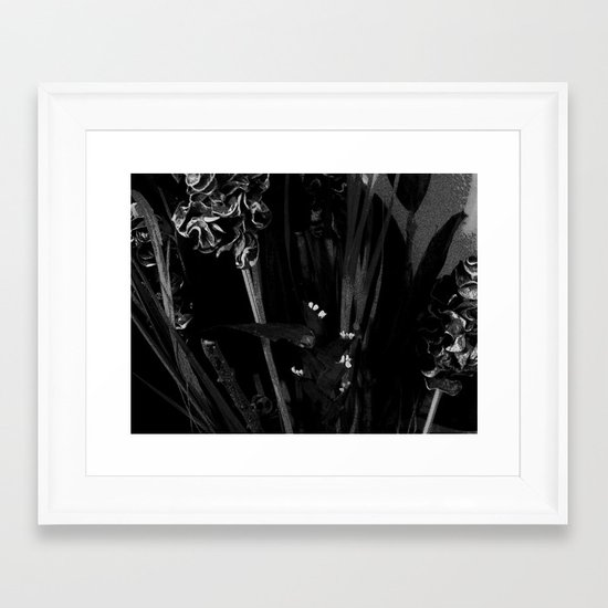 Lost in the Dark Framed Art Print