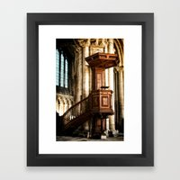 The Pulpit Framed Art Print