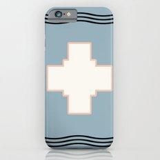 Cross tribal wave iPhone 6 Slim Case