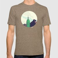 For Julia - NYC Mens Fitted Tee Tri-Coffee SMALL