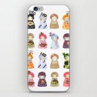 PaperDolls iPhone & iPod Skin