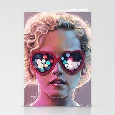Electrick Girl Stationery Cards