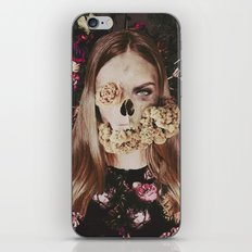 Deadly Girl iPhone & iPod Skin