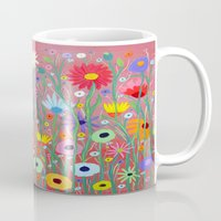 Flowers-Abstracts  Mug