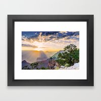 Grand Morning Arizona! Framed Art Print