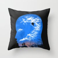 Pulling Out Some Thought… Throw Pillow