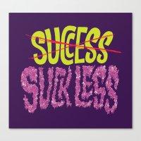 Success.  Canvas Print