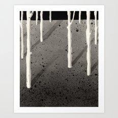 Forest of Guigemar Art Print