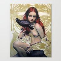 Death By Alex Garant Canvas Print