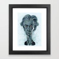 Sir Ian McKellen Framed Art Print