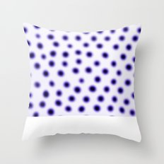 dots of focus Throw Pillow