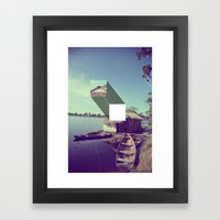 Stitched Amazon Framed Art Print