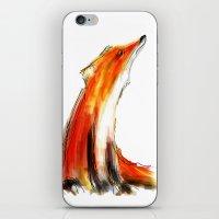 Wise Fox Reverse iPhone & iPod Skin