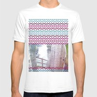 AZTEC 'Door Into Summer'… Mens Fitted Tee White SMALL